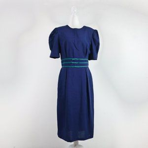 Vintage 80s Via Sant Andrea Dress